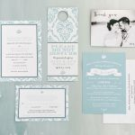 Destination Beach Wedding Invites, Now Larimar, Punta Cana, Philadelphia Weddings  {Queen Bee Paperie}