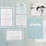 Destination Beach Wedding Invites, Now Larimar, Punta Cana, Philadelphia Weddings  {Queen Bee Paperie}