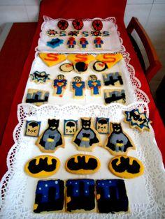 Batman, Spiderman and Superman!!!