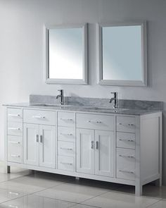 Annabelle 60 Bathroom Vanity White Bathroom Pinterest