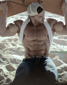 Male form … Muscles #GorgeousMan #SexyMan #Handsome #EyeCandy #HotMan #MaleBeauty #MaleModel #Hot #Sexy #Boys #Guys #Hunk #Muscles #Abs #Pecs #Biceps #Triceps