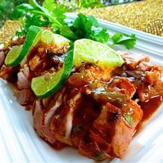 Tequila-Lime Pork Tenderloin Allrecipes.com
