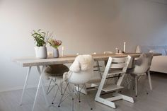 DIY - make your own rustic dinner table for 12
