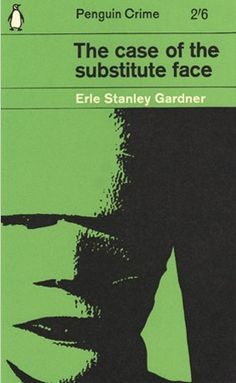The great designer Romek Marber. Not only did he design the 'Penguin grid' for the Crime series, thus establishing an identity for Penguin's crime output throughout the 60s, in this example he also designed the cover, took the photograph and used himself as the bandaged man... A simpler and more innocent time?