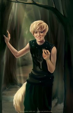 Wolf!Luhan by meltedicecubes
