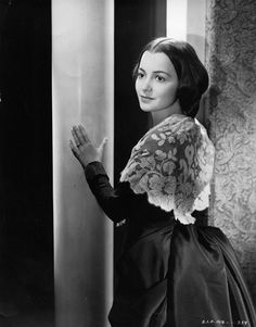"Olivia de Havilland ""Gone With the Wind""  --- Melanie always saw the good in people."