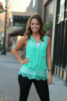 Southern Belle Lace Blouse