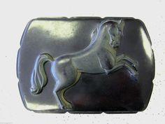 Vintage Bakelite Horse Trinket Box by Hibcock Black Early Plastic | eBay