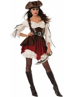 Women's Sexy Pirate Penny Costume | Pirate Costumes