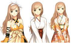 Kureha Touka Outfits from Shining Wind