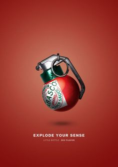 30 Creative Tabasco Ads That Will Bring The Heat, see them all at Ateriet