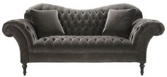 $4299 Arhaus Club Sofa - Charcoal Cannes