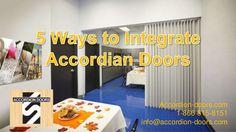 Accordion-doors.com 1-866-815-8151 info@accordion-doors.com  #accordiondoors #accordiandoors #accordionfoldingdoors
