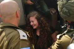 Tamimi, who has gained international attention, served an eight month sentence for aggravated assault and other charges after she kicked and slapped two armed Israeli soldiers.