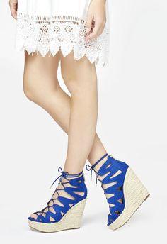Emilia Schuhe in COBALT - günstig kaufen bei JustFab