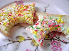 fairy bread! ~ love this for birthday breakfast!