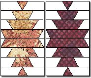 CHINESE LANTERN QUILT                  PC