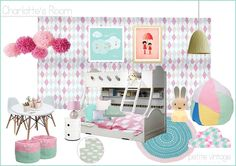 Petit little vintage design board Love - x
