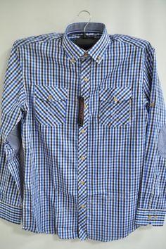 Koszula Męska 817B La Mardo (M-3XL) slim