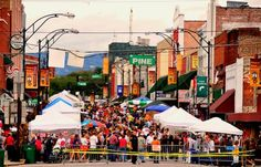 Everyone LOVES downtown Mt. Airy during Mayberry Days and Autumn Leaves Festival