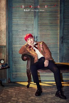 B.A.P's Bang Yong Guk and Himchan are next up for charismatic 'Rose' teaser images   allkpop.com