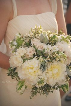 Kirkland/Truxal Wedding | Flying Horse Country Club, Colorado Springs | Two Birds One Stone {wedding/engagement picture ideas/bridal bouquet}