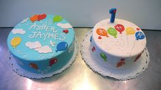 Balloon UP Birthday Cakes by CAKE Amsterdam - Cakes by ZOBOT, via Flickr