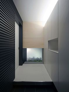 Minimalist interior of the House with a Tiny Pool by Japanese NRM Architects (photo Eiji Tomita) _