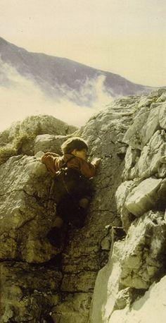 Little klaus...climbing