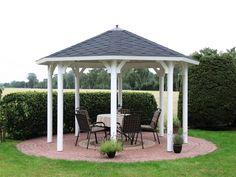 Fabulous Der Gartenpavillon Kreta von Wolff Finnhaus ist der optimale Platz in Ihrem Garten frische Luft