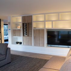 Epic H ngeschrank Wohnzimmer Ikea Mueble TV Pinterest Room london Living rooms and Tv units