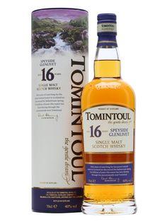 Tomintoul 16 yrs, 85/100pts//JL Nose: 21 Taste: 20 Finish: 22 Balance: 22