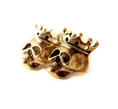 MISSSU JEWELRY / Skull With Crown Ring / Online Store Powered by Storenvy