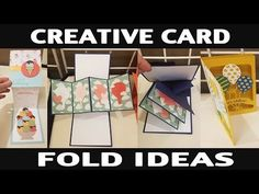 Stamping Jill - Creative Card Fold Ideas - YouTube