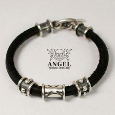 Crusader  - bransoleta / Anioł / Biżuteria / Dla mężczyzn