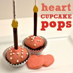 How to Make Heart Cupcake Pops in 5 Easy Steps