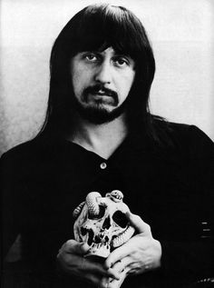 John Entwistle, a man I know very little about, yet The Ox was a member of my favorite group, The Who. The other three were so colorful, they completely overshadowed him.
