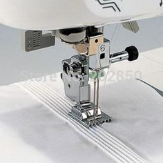 Household Multi-Function Sewing Machine Accessories Tools Tank Presser Foot With 9 Grooves or 7 Grooves Sewing Tools, Sewing Hacks, Sewing Tutorials, Sewing Crafts, Sewing Projects, Janome, Aya Couture, Sewing Machine Accessories, Techniques Couture
