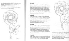 Iris folded roses