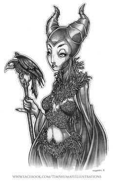 Maleficent by Tim Shumate