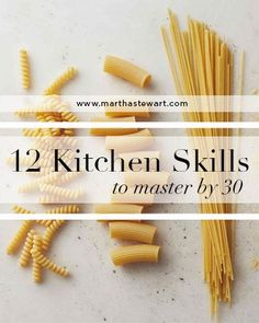 Can you cut up a chicken or frost a cake? No one says you HAVE to know what you're doing in the kitchen, but it might be a good idea to know some of the elevated basics by the time you're 30. Check out what Martha Stewart thinks are unmissable skills!