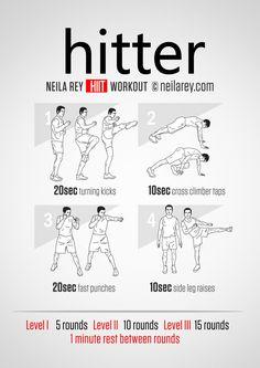 Hitter Workout | neilarey.com | #fitness #bodyweight