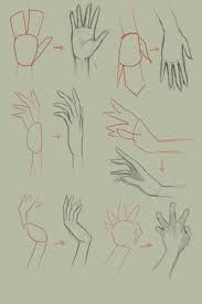 how to draw hands - Google Search