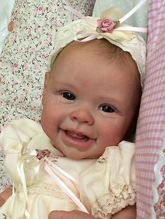 Joanna's Nursery ~ ADORABLE~  Reborn Baby GIRL~ HARPER by ANDREA ARCELLO~ RARE~