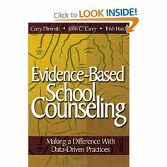 Evidence-Based School Counseling: Making a Difference With Data-Driven Practices School Guidance Counselor, Middle School Counseling, Elementary School Counselor, School Social Work, Professional Counseling, Professional Development, School Counsellor, Counseling Activities, School Psychology