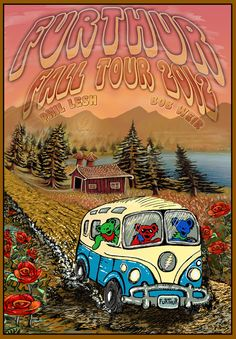 Furthur Fall Tour 2012 poster.  I'll be there!