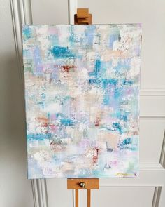 Abstract painting on canvas Gonna Be Alright, Paintings, Curtains, Shower, Abstract, Canvas, Prints, Art, Rain Shower Heads