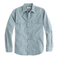 j crew Wallace & Barnes Everdell shirt