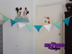 Banderines para cumples y eventos, o decoración infantil myvioletdesigns.com