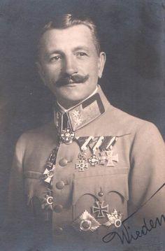 Austro-Hungarian Army - Heinrich Wieden Edler von Alpenbach